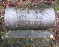 Tharp, Frank Tombstone