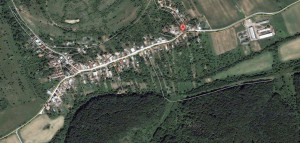 Jablonca satellite view