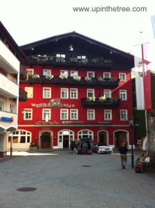 Hotel Weisses Rossl in St. Wolfgang, Austria