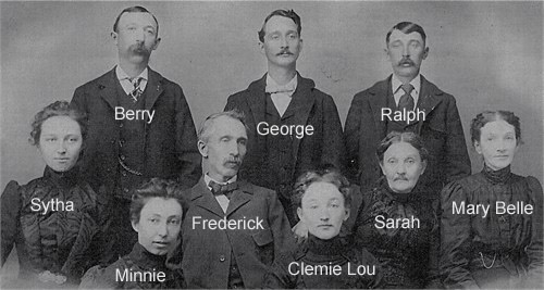 Hudson Family with names