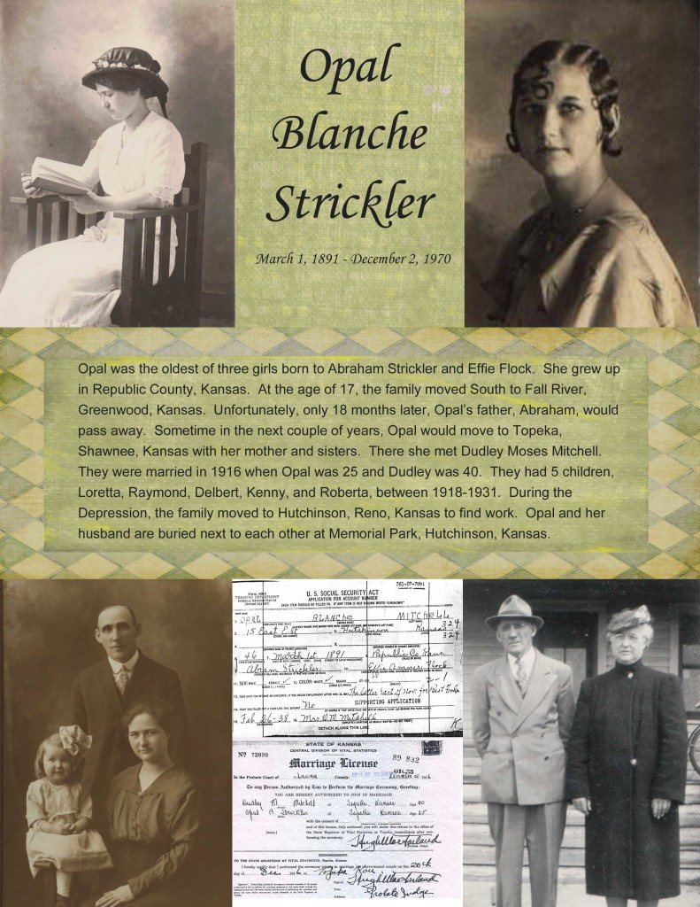 Opal Strickler page