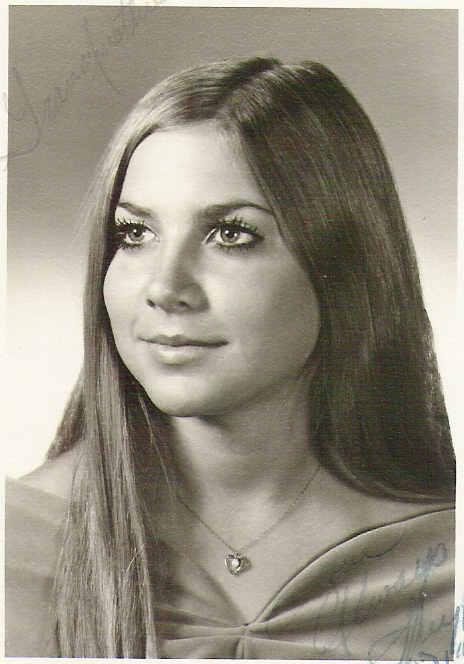 Mom at her High School Graduation