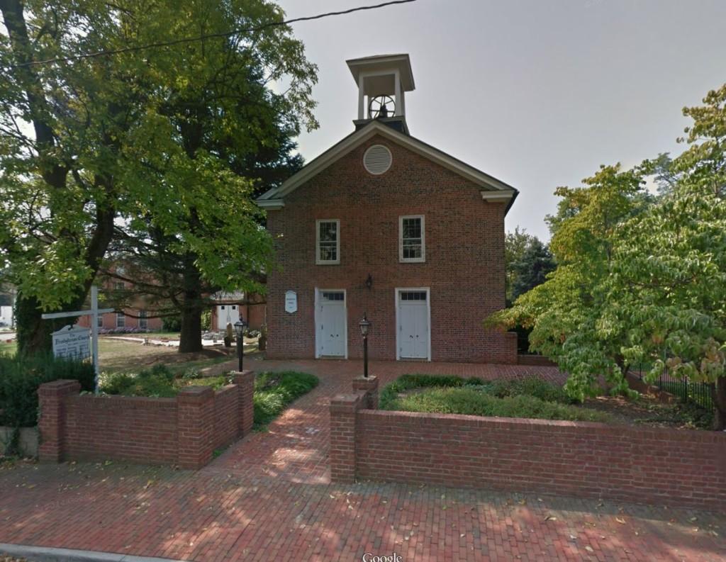 Leesburg Presbyterian Church from Google Maps