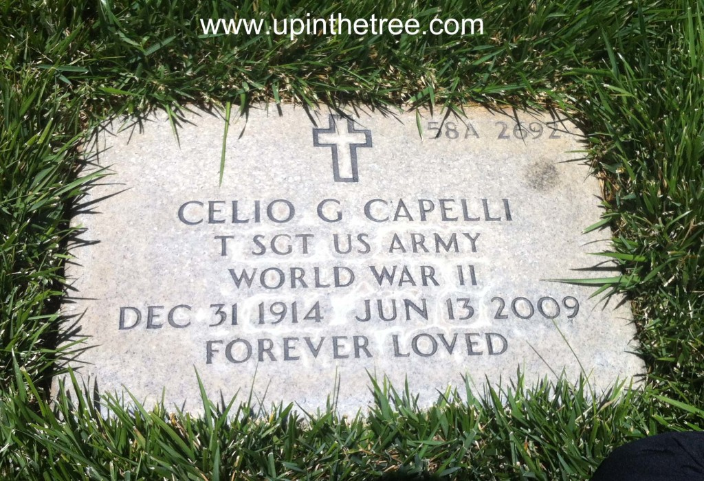"Celio ""Jay"" Capelli, Riverside National Cemetery, Section 58A, Site 2692"